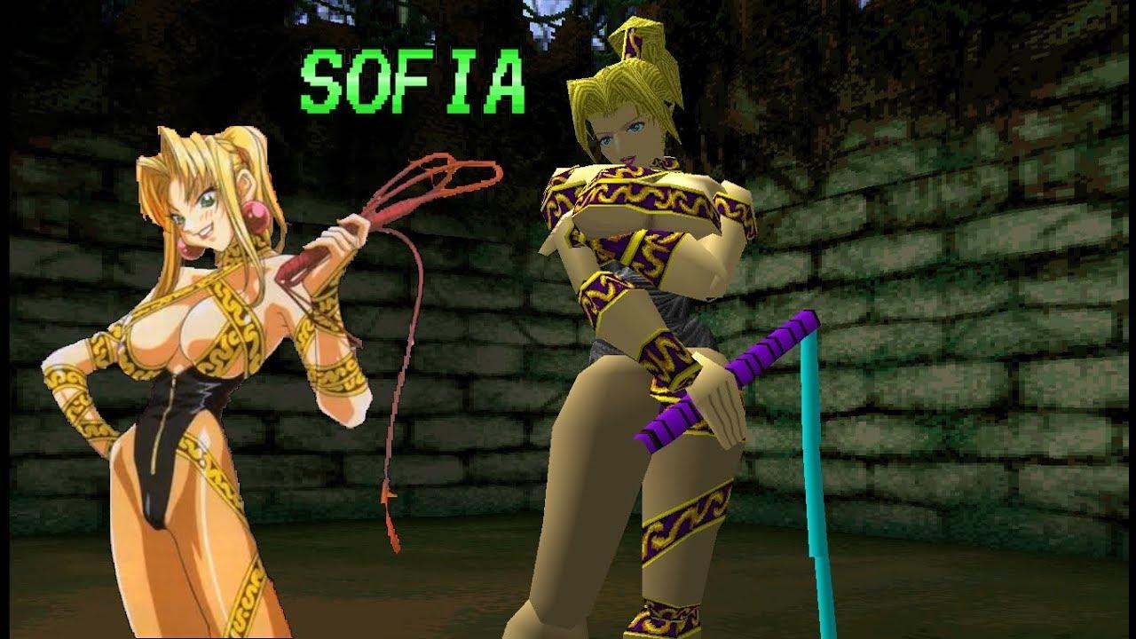 Battle Arena Toshinden 3 Sofia Playthrough Youtube