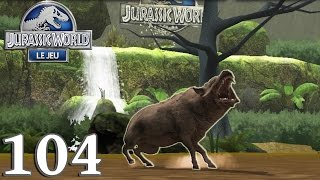 JURASSIC WORLD : Le Jeu 104 - Géant Du CANADA + Entélodonte - royleviking [FR HD]