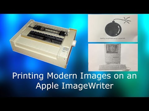 How to Print Images on an Apple ImageWriter from a Modern Computer