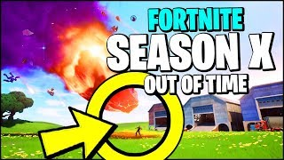 FORTNITE SEASON 10 OFFICIAL TRAILER *RIGHT NOW* (ALL DETAILS, SEASON X SKINS & STYLES)