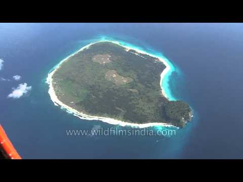 White sand beaches of an isolated Indian island: Andaman & Nicobar