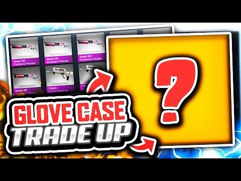 GLOVE CASE TRADE UPS (CS GO Glove Case Opening)