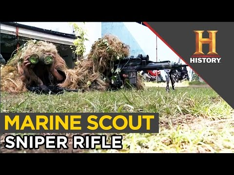 The Power of the Marine Scout Sniper Rifle | Special Forces