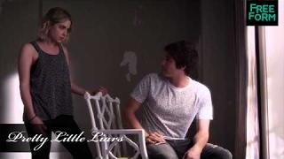 Pretty Little Liars - 6x04 | Sneak Peek: Caleb & Hanna