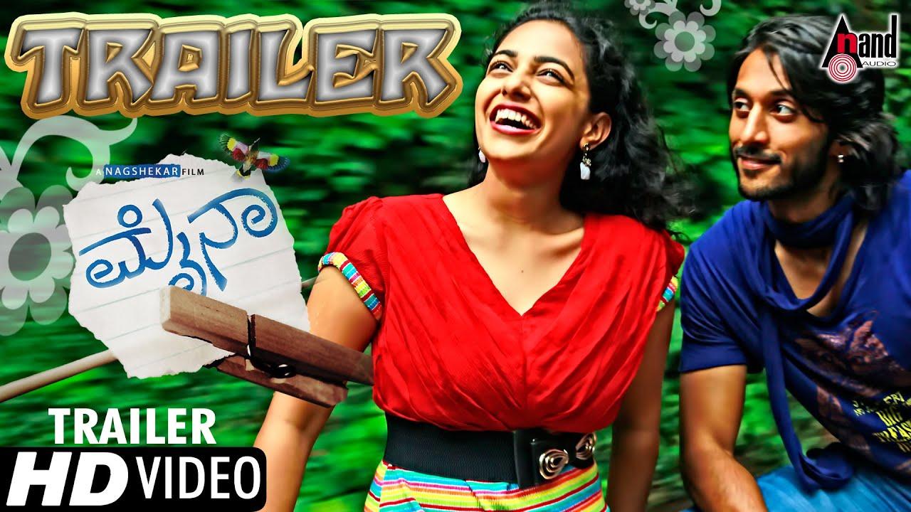 Mynaa official trailer feat chetan and nithya menon youtube thecheapjerseys Choice Image