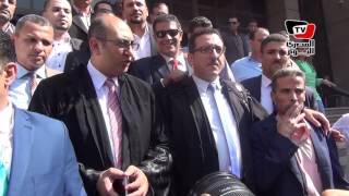 مرافعة «خالد علي» أمام مجلس الدولة في قضية «تيران وصنافير»