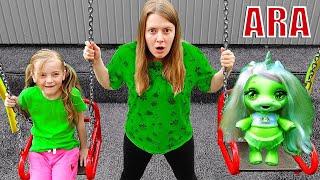 Ulya والألعاب النشطة للأطفال