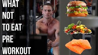 Foods to Avoid Pre-Workout: What Not to Eat- Thomas DeLauer