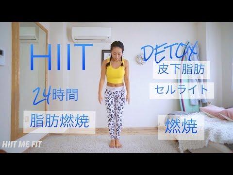デトックスCHALLENGE!! HIIT(脂肪燃焼) #DAY3