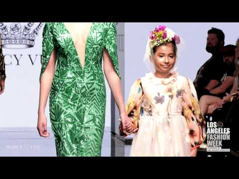 Nancy Vuu at Los Angeles Fashion Week Powered by Art Hearts Fashion