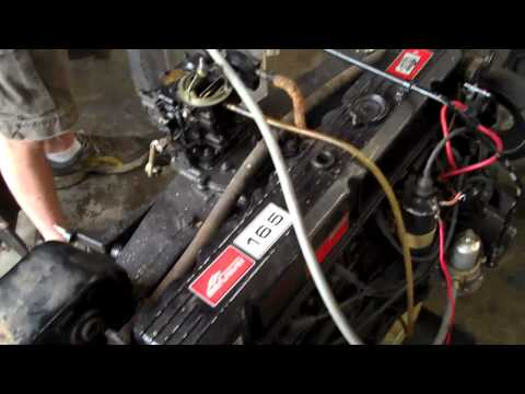 mercruiser 165 straight 6 boat motor youtube  165 hp mercruiser engine diagram