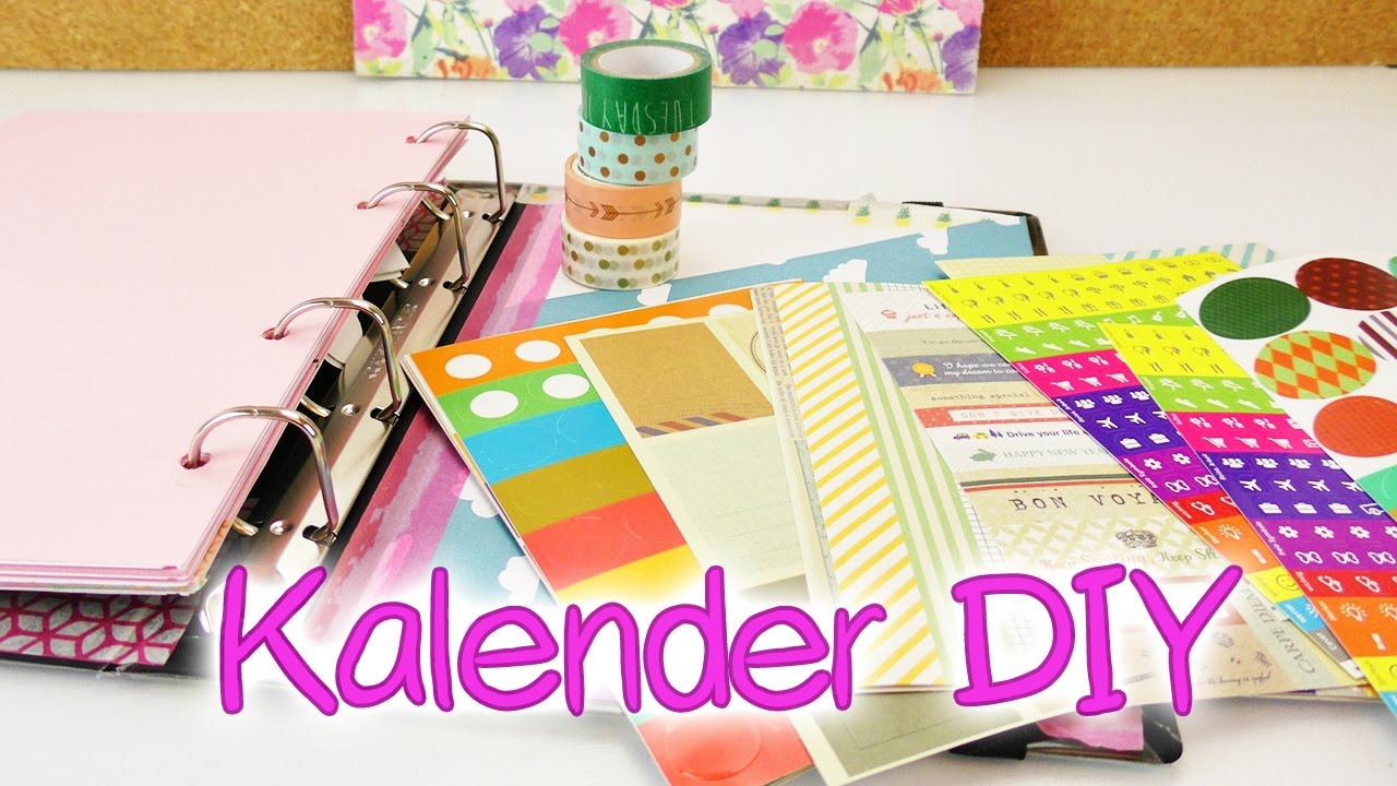 kalender diy woche gestalten mit neuen stickern washi tape mini vintage haul youtube. Black Bedroom Furniture Sets. Home Design Ideas