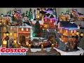 Animated village Christmas decoration Buy costco | Unboxing
