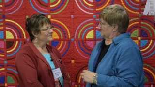 Nubin Jensen - Hm - Wall Quilts - Modern - Aqs Quiltweek - Phoenix 2014