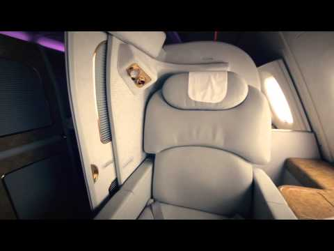 Take a 360 degree tour of Emirates First Class Private Suite