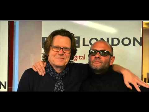 Paul Hallam as Robert Elms' Listed Londoner. BBC Radio London.