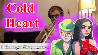 Cold Heart (PNAU Remix) - Dua Lipa and Elton John (Trumpet Cover)