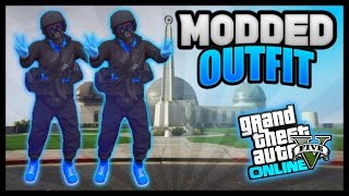 """GTA 5 ONLINE: HOW TO CREATE A """"SICK MODDED OUTFIT"""" USING CLOTHING GLITCHES! (PATCH 1.42)"""