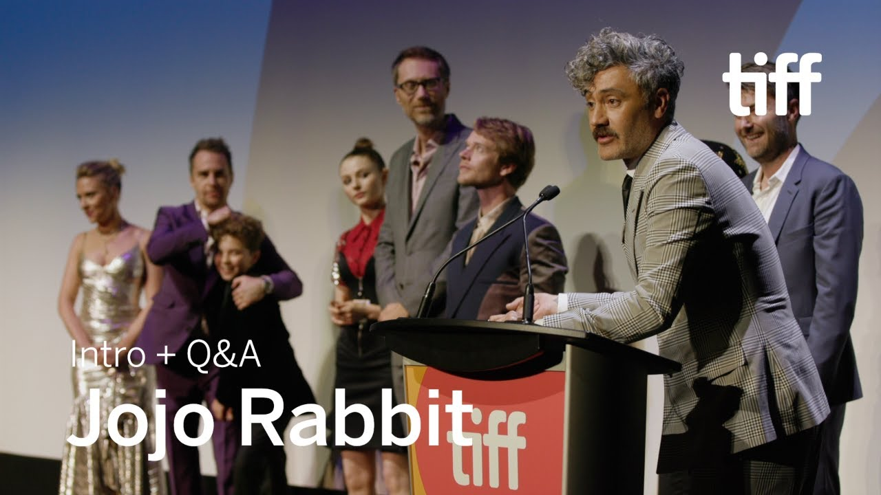 Jojo Rabbit Cast >> Spoilers Jojo Rabbit Cast And Crew Q A Tiff 2019