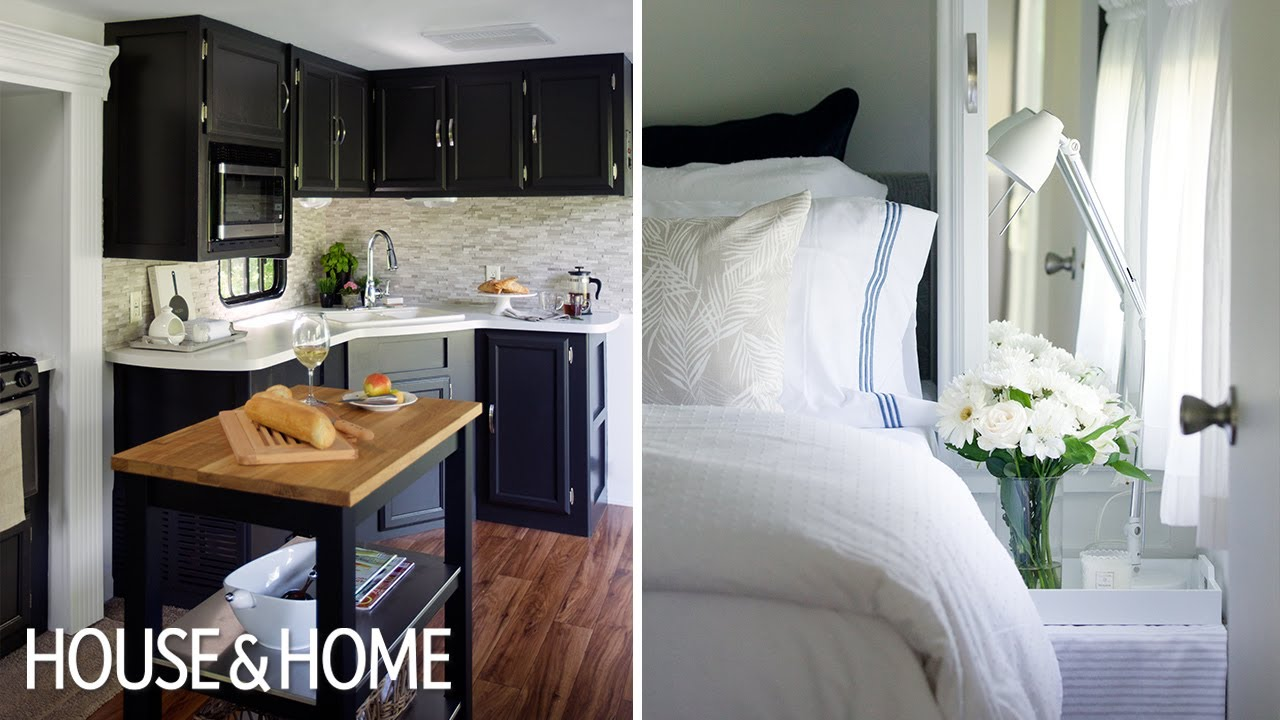 Interior Design — A Tiny & Luxurious Trailer Makeover - YouTube