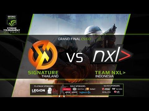 GEXT: CS:GO - Team NXL (ID) vs  Signature (TH) BO 3 - Xtreme Tournament SEA GRAND FINAL