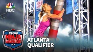 Brittany Reid at the Atlanta Qualifier - American Ninja Warrior 2016