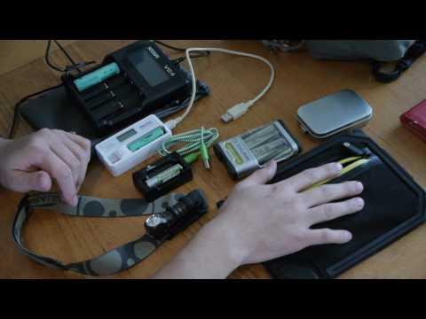 USB AA AAA NIMH Li ion Charger Overview