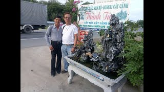 NGHỆ NHÂN THÀNH TÂN- chuyên chế tác hòn non bộ, cắt sửa bonsai cây cảnh Hotline: 0329 327 216