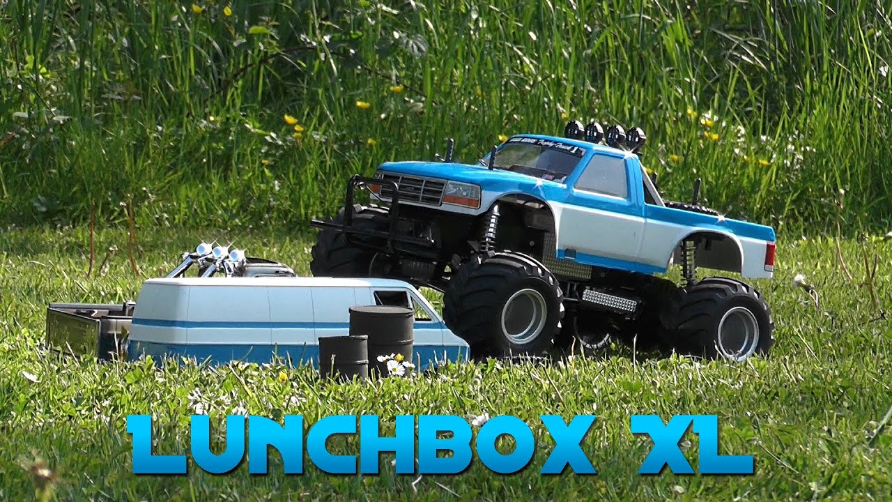 Tamiya Ford F-150 Monstertruck: Monstertruck Show & Offroad ...