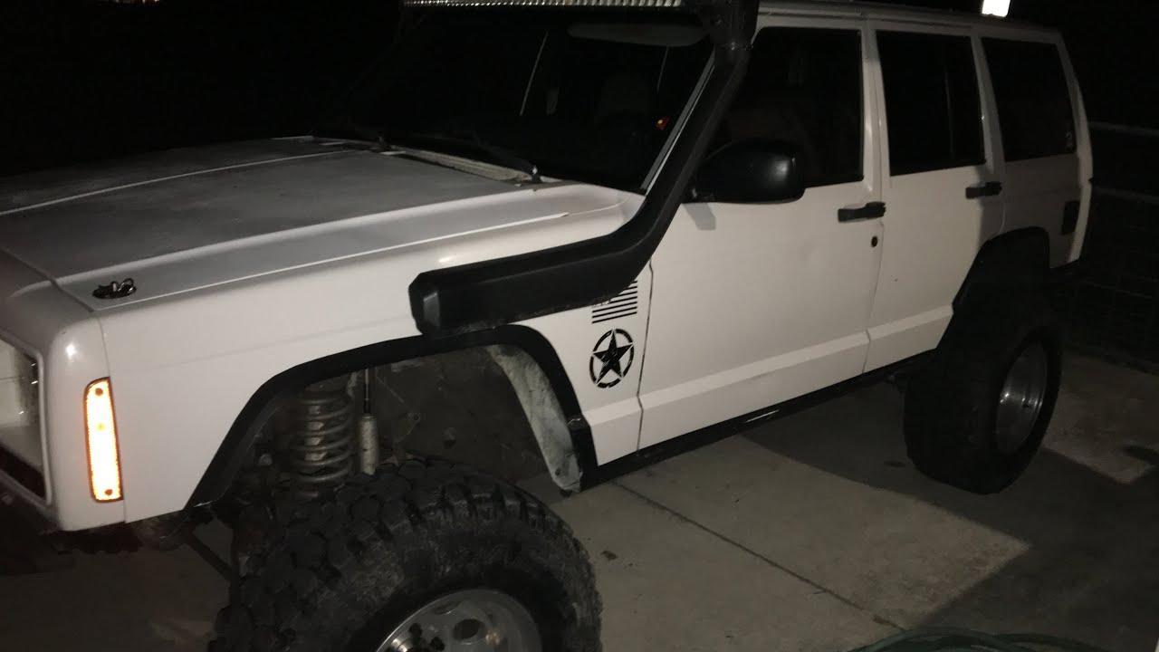 Jeep Xj Cherokee Door Hinge Pin Replacement Youtube