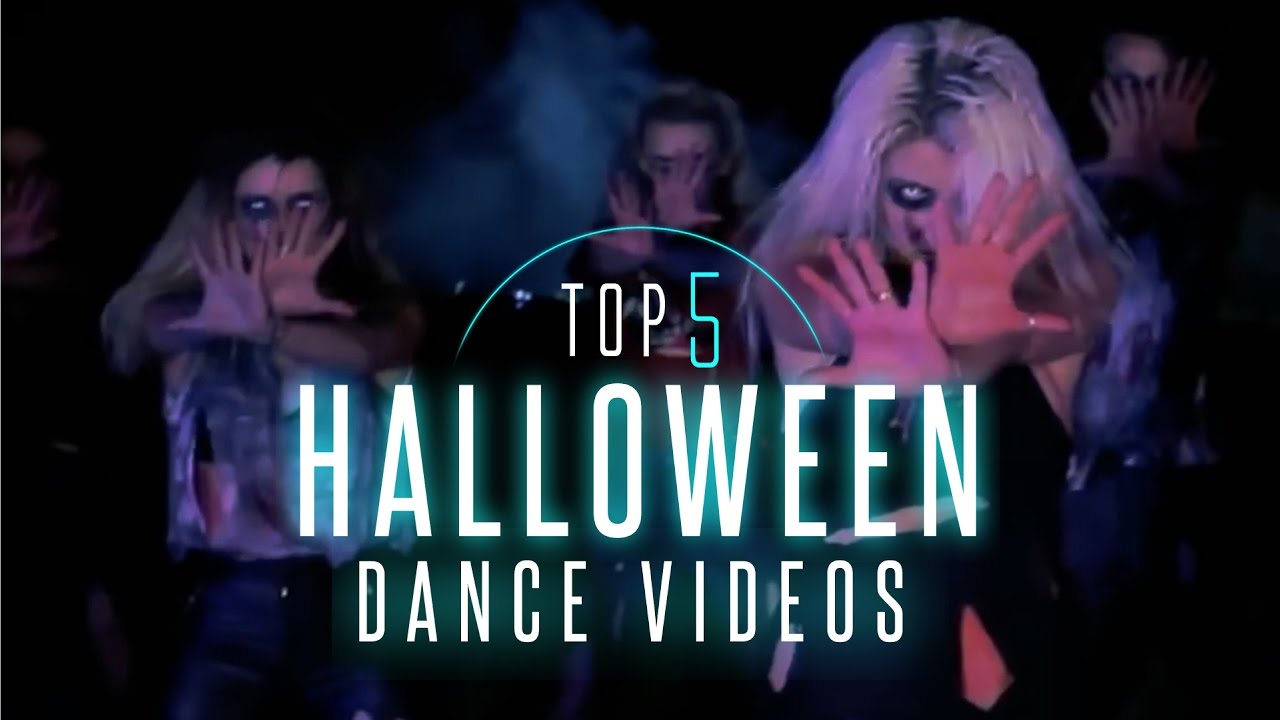 top 5: best halloween dance videos - youtube