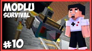 OTOMATİK MADEN MAKİNASI - Minecraft Modlu Survival - #10