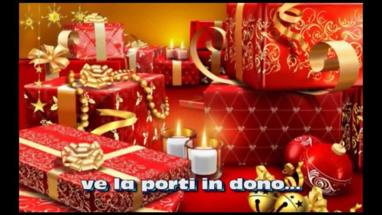 A Tutti Buon Natale Canzone.Buon Natale A Tutti Voi Merry Christmas To All Of You Sub Ita Eng Youtube