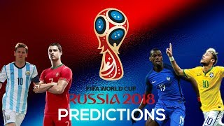 World Cup 2018 *PREDICTIONS* V2