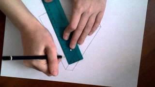 Как нарисовать Невозможный треугольник