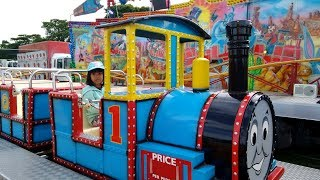 THOMAS AND FRIENDS Train Ride For Kids | Family Amusement Park