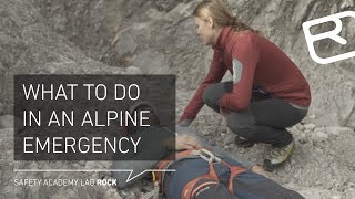 What to do in an Alpine Emergency - Tutorial