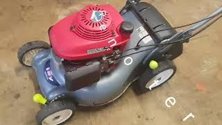 Tondeuse Honda IZY HRG415 C GCV160 restauration
