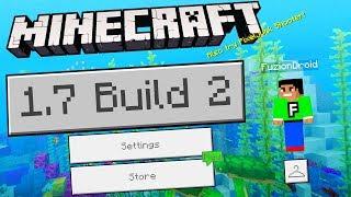 MCPE 1.7 BUILD 2 UPDATE!!! - Minecraft Pocket Edition