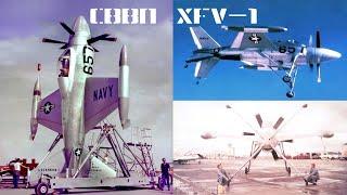 Lockheed XFV-1 «Salmon»: экспериментальный истребитель вертикального взлёта и посадки