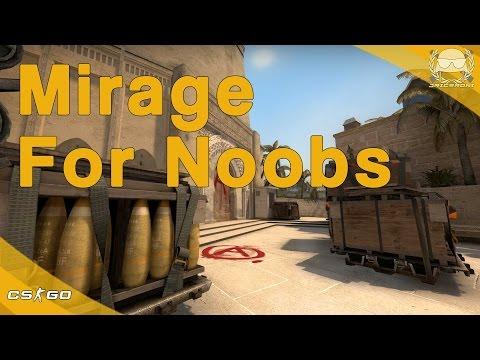 CS:GO | Mirage for Noobs [Updated]