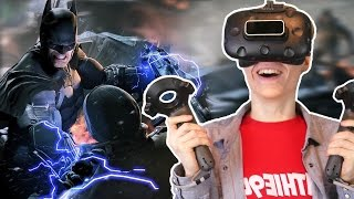 THE DARK KNIGHT RISES | Batman Arkham VR (HTC Vive Gameplay) Part 2
