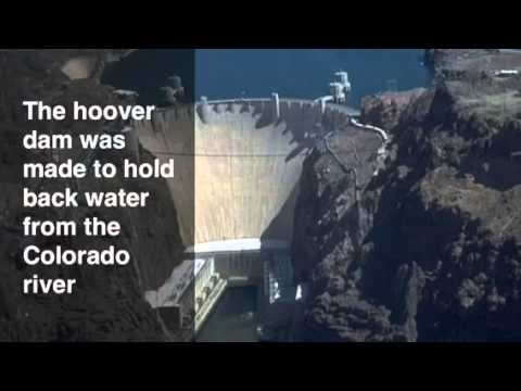 Boulder Dam and Goldengate Bridge