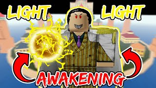 LIGHT-LIGHT FRUIT Awakening Power Is COMING to BLOX FRUIT Update 12!