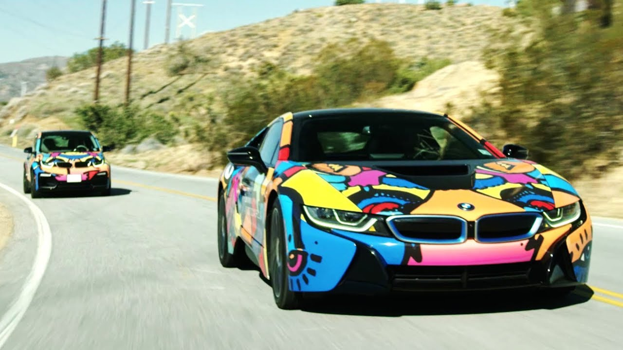 BMW I8 And BMW I3 Are On The Road To Coachella With John Gourley From  Portugal. The Man