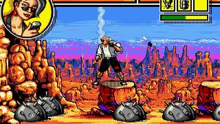 Comix Zone Sega Genesis Gameplay / Playthrough