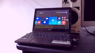 How to install Windows 8.1 Pro on Acer Aspire One D257 Netbook