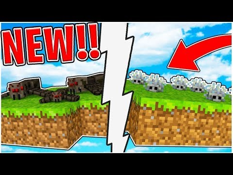 CRAZY BRAND NEW UPDATE TO MONSTER ISLAND!? (NEW MONSTERS INDUSTRIES MAP) - Minecraft Minigame