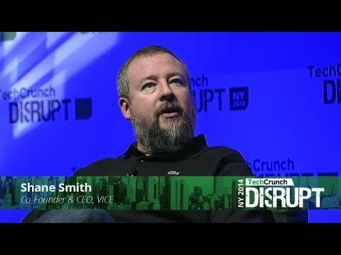 Vice's Shane Smith Doesn't Want to Be Called a Journalist | Disrupt NY 2014