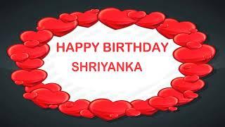 Shriyanka   Birthday Postcards & Postales - Happy Birthday
